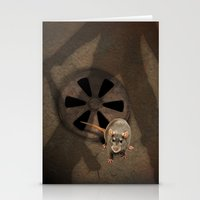 fear Stationery Cards featuring fear by ErsanYagiz