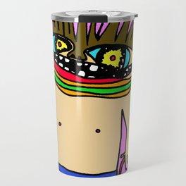 - hey! - Travel Mug