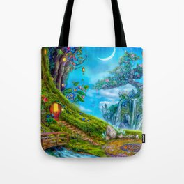 Day Moon Haven Tote Bag