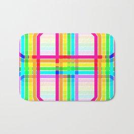 Weaved Rainbow Bath Mat