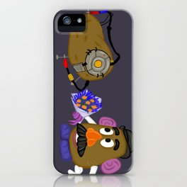 Courting GLaDos iPhone Case