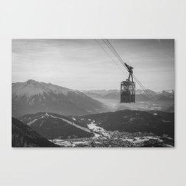 Vintage Ski Lift Canvas Print