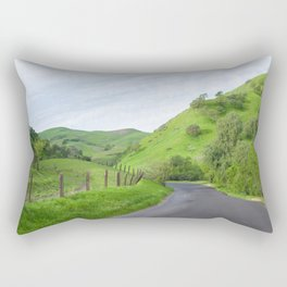 Northern California country road Rectangular Pillow