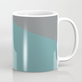 Flashlight, blue & pink, abstract graphic Coffee Mug