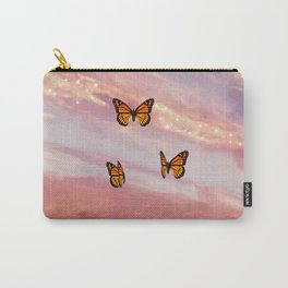 Butterfly Sunset Aesthetic Carry-All Pouch