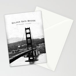 Golden Gate Bridge - San Francisco Stationery Cards