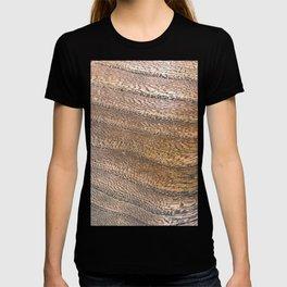 Warm Waved Wood T-shirt