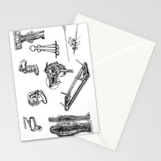 We Do Torture Right  Stationery Cards