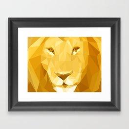 "Fragments ""Lion"" Framed Art Print"