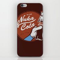 fallout iPhone & iPod Skins featuring Nuka Cola Fallout drink by Krakenspirit