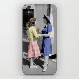 Fifties Girls iPhone Skin