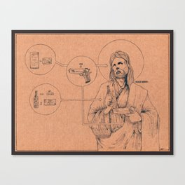 Ecce Homo One Canvas Print