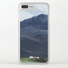 House Amongst Giants Clear iPhone Case