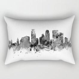 Minneapolis Skyline Rectangular Pillow