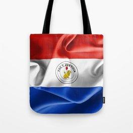 Paraguay Flag Reverse Side Tote Bag