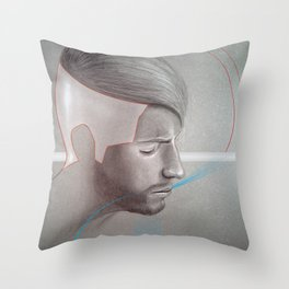 The Contempt Throw Pillow