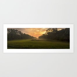 in the early morn' Art Print