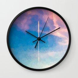 """ CONTRAIL "" Wall Clock"