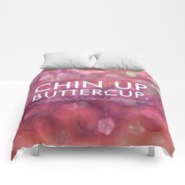 Chin Up Buttercup - Sparkle Pink Comforters