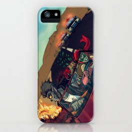 Ginny & Clutch (Greetings From Route 66) iPhone Case