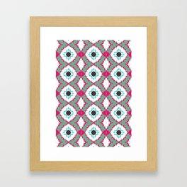 Colour Strips Framed Art Print