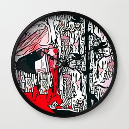 Don't get mad ~ Get even Wall Clock