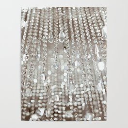 Crystals and Light Poster