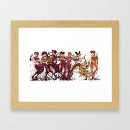 jojo's nonsense adventure Framed Art Print