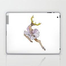 Reindeer Ballerina Tutu Laptop & iPad Skin