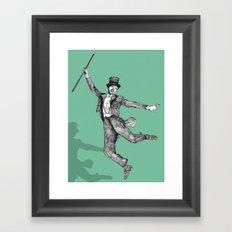 Fred Astaire Framed Art Print