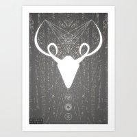 Forest Demon Art Print