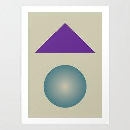 Gradient V3 Art Print