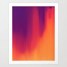 Spectrogram Art Print