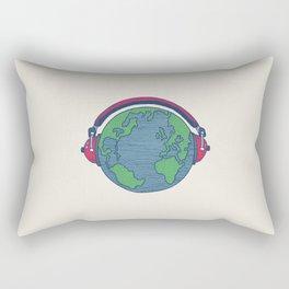 World Music Rectangular Pillow
