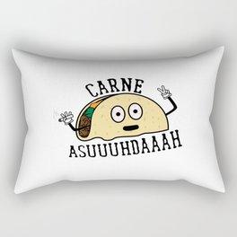 Carne Asuuuhdaaah Rectangular Pillow