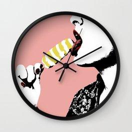 Vintage Lollipop Wall Clock