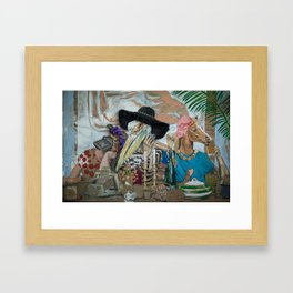 DO IT FOR THE GRAM Framed Art Print