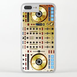 DDJ SX N In Limited Edition Gold Colorway Clear iPhone Case