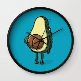 Butt Avocado Wall Clock