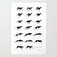 The Midday Class Art Print