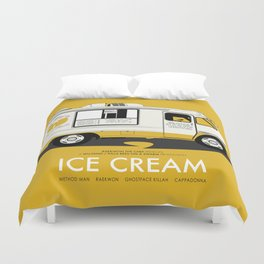 Raekwon of Wu-Tang - Ice Cream Duvet Cover
