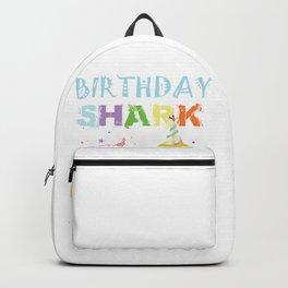2nd birthday shark doo doo doo doo doo Backpack