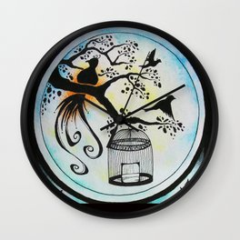 Nurture and Release Wall Clock