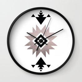 Minimalist Aztec Wall Clock