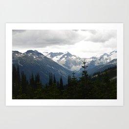 Whistler views Art Print
