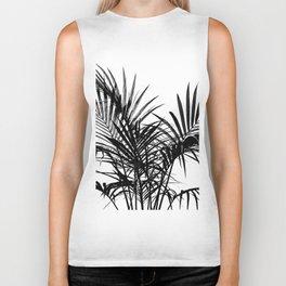 Little palm tree in black Biker Tank