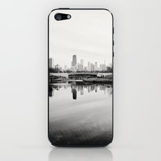 Chicago Skyline from South Pond iPhone & iPod Skin