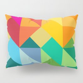 Multiple Hearts Pillow Sham