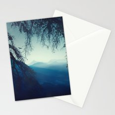 blue morning - vertical tapestry Stationery Cards