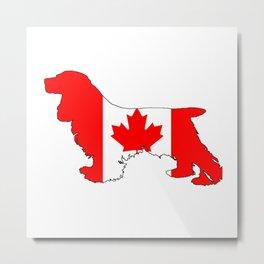 Canada Cocker Spaniel Metal Print